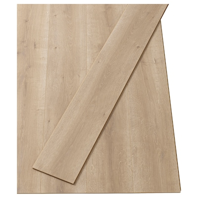 PRÄRIE Laminatgolv, ekmönstrad/natur, 2.25 m²