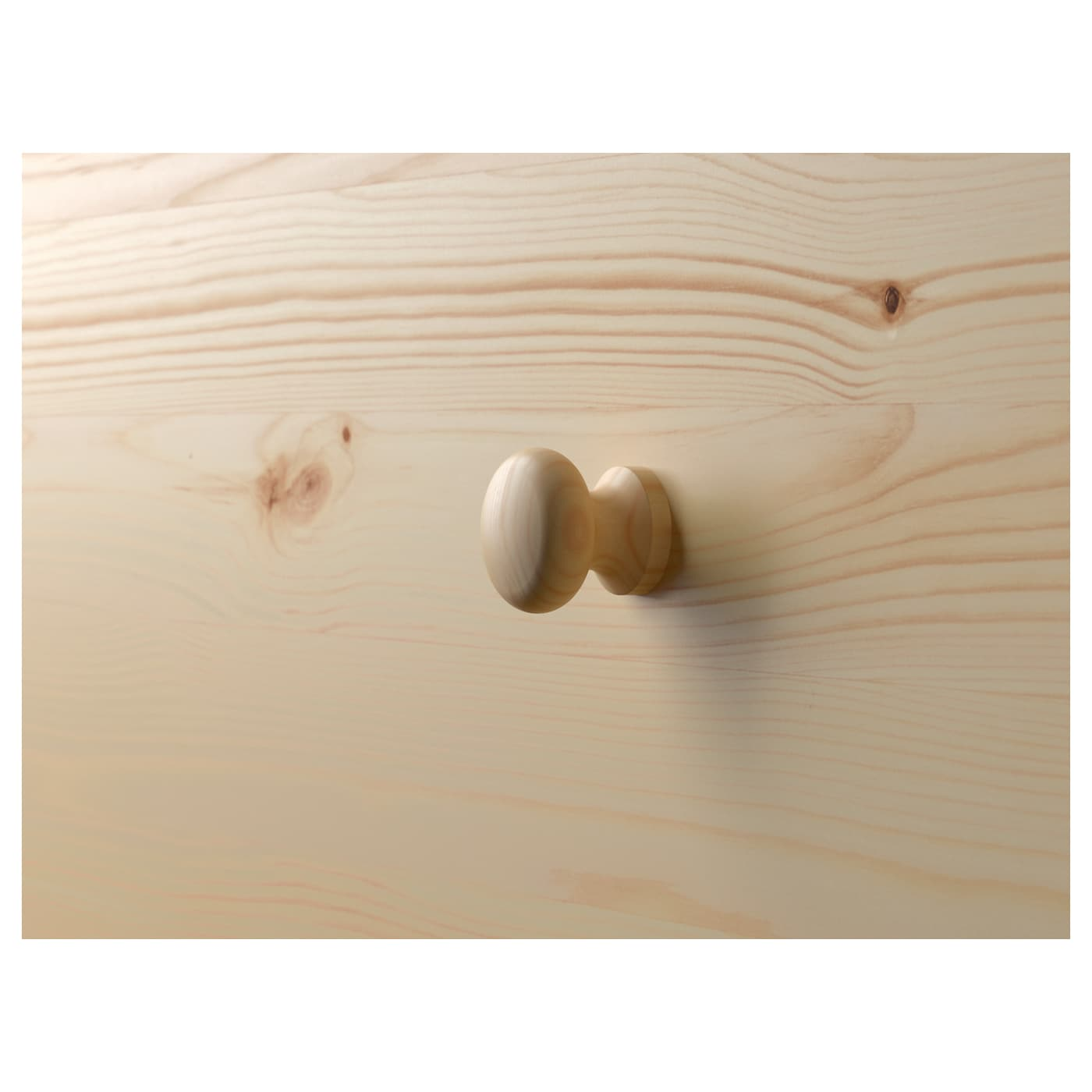 RAST Byrå med 3 lådor, furu, 62x70 cm