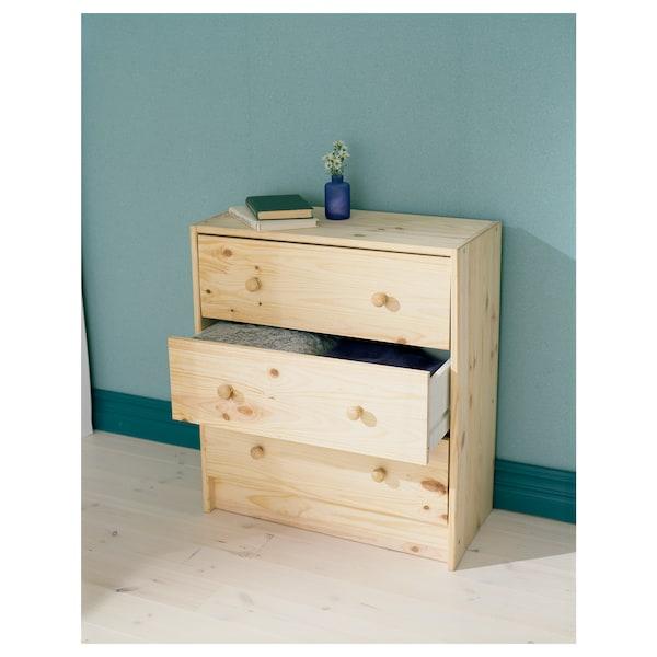 IKEA RAST Byrå med 3 lådor