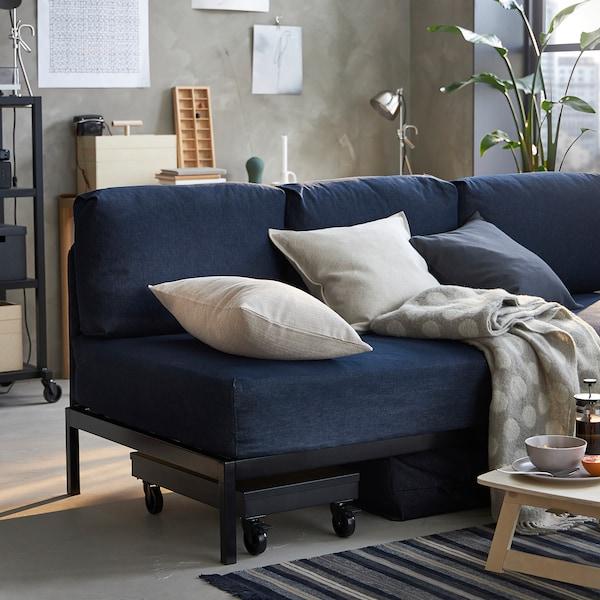 RÅVAROR Dagbädd, Vansta mörkblå, 90x200 cm