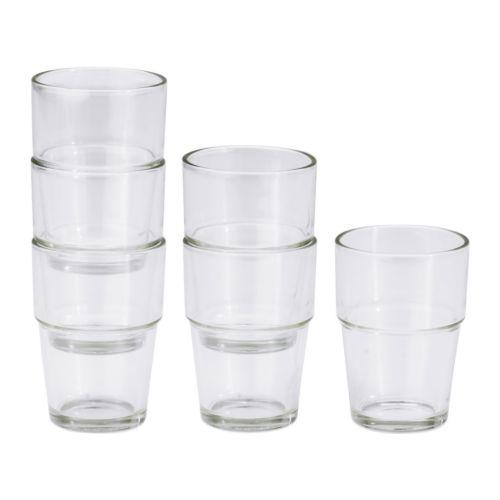 REKO Glas, klarglas Höjd: 9 cm Rymd: 17 cl Antal i förpackning: 6 styck