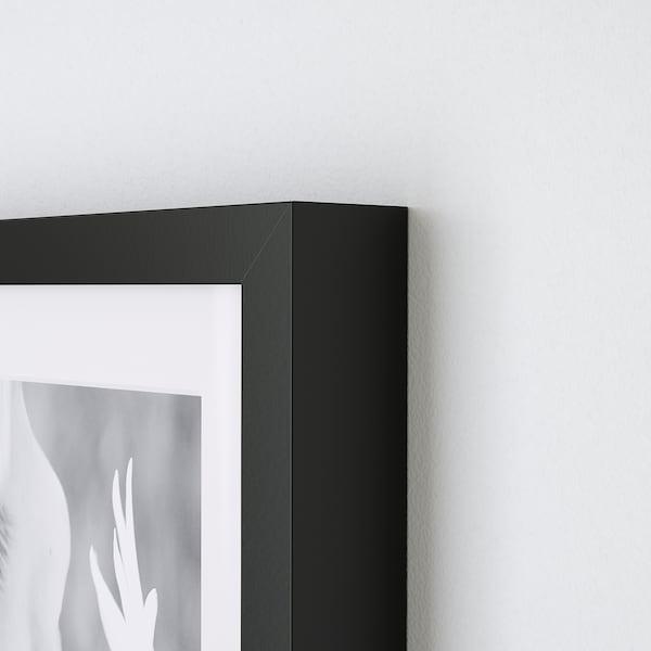 RIBBA Ram, svart, 21x30 cm