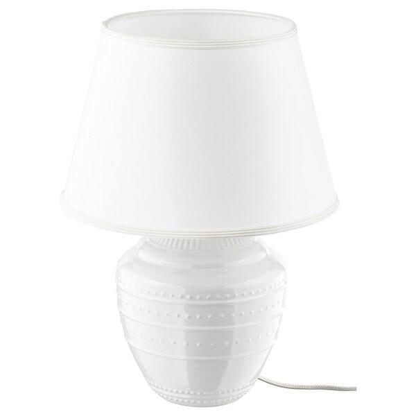 RICKARUM Bordslampa, vit, 47 cm IKEA