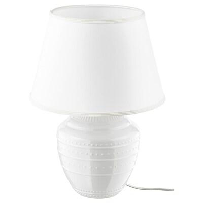 RICKARUM Bordslampa, vit, 47 cm