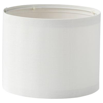 RINGSTA Lampskärm, vit, 19 cm