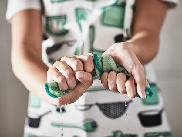 RINNIG Disktrasa, grön, 25x25 cm