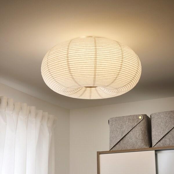 RISBYN LED plafond vit 50 cm