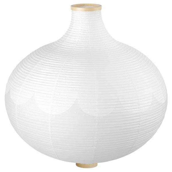 RISBYN Taklampskärm, lökformad, vit, 57 cm IKEA