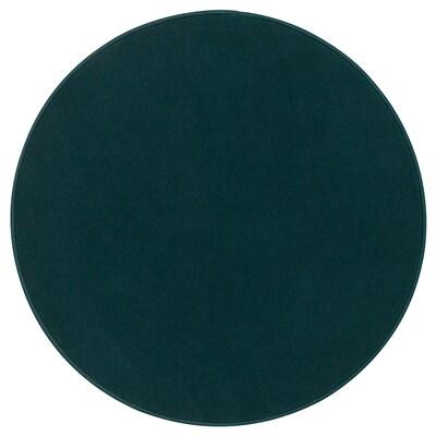 RISGÅRDE Matta, kort lugg, grön, 70 cm