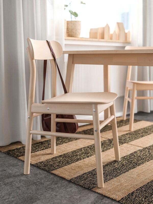 RÖNNINGE Stol, björk IKEA