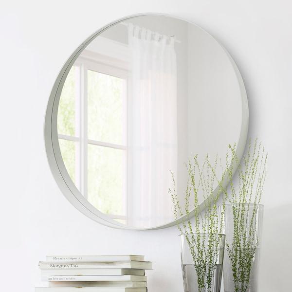 ROTSUND Spegel, vit, 80 cm