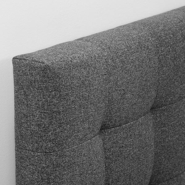 RYKKINN Huvudgavel, Gunnared mellangrå, 160 cm