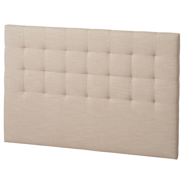RYKKINN Huvudgavel, Hillared beige, 160 cm