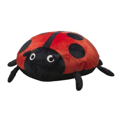 SAGOSTEN Överdrag IKEA Barnsäker dragkedja; barnet kan inte öppna överdraget. Luftmöbel; lätt att flytta, bära och busa med.