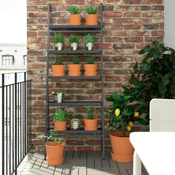 SALLADSKÅL Piedestal, utomhus/grå, 173 cm