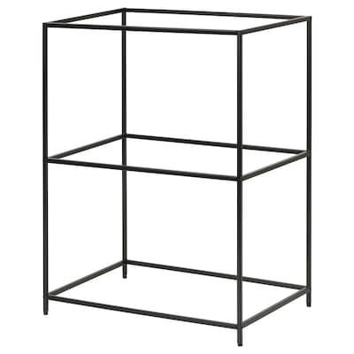 SAMMANHANG Brickstativ, svart, 28x20x39 cm