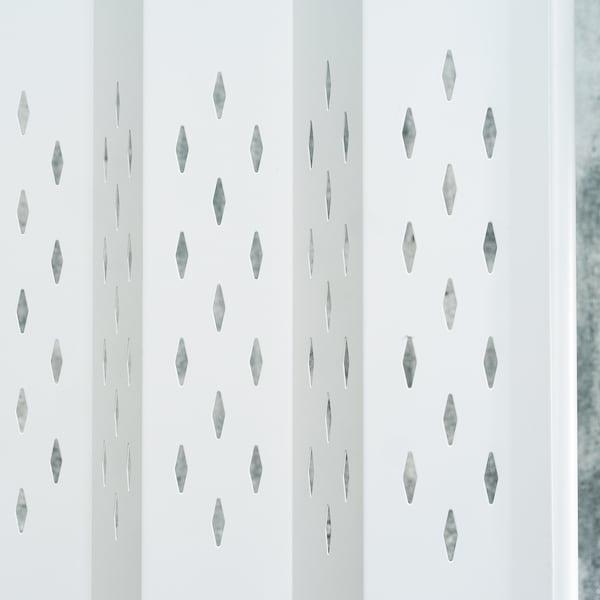 SAMMANKOPPLA Skärmvägg, vit, 113x163 cm