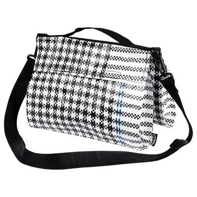 SAMMANKOPPLA Väska, svart/vit