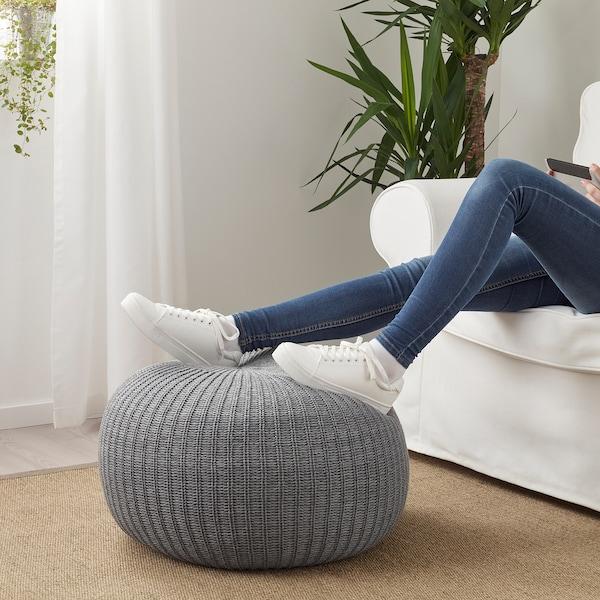 SANDARED Sittkudde, grå, 56 cm