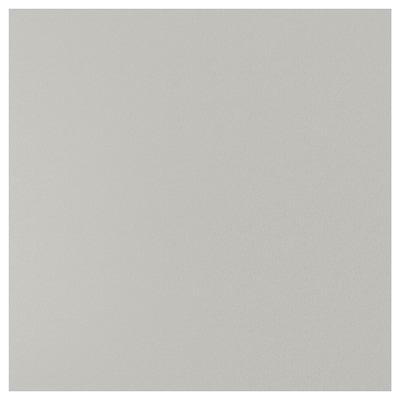 SIBBARP Måttbeställd väggplatta, ljusgrå stenmönstrad/laminat, 1 m²x1.3 cm