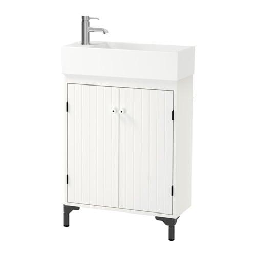 SILVERåN LILLåNGEN Tvättställsskåp med 2 dörrar IKEA