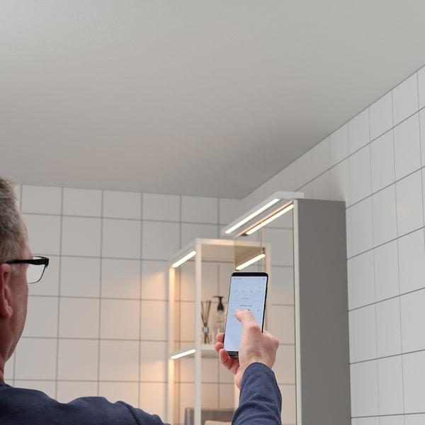SILVERGLANS LED ljuslist för badrum, dimbar vit, 60 cm