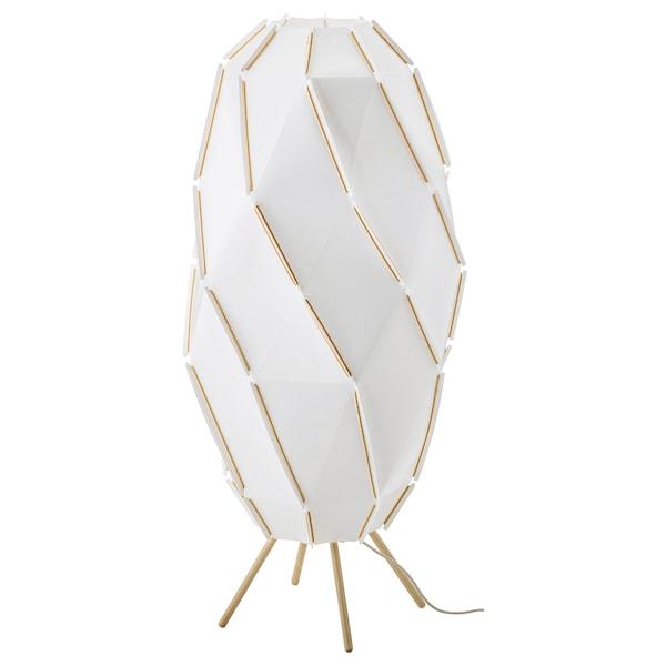 SJÖPENNA Golvlampa, vit IKEA