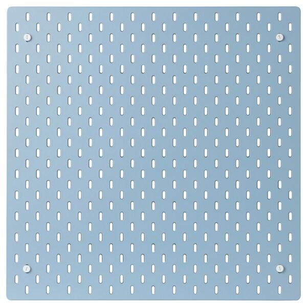 SKÅDIS Förvaringstavla, blå, 56x56 cm