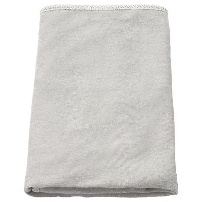 SKÖTSAM Överdrag till skötbädd, grå, 83x55 cm