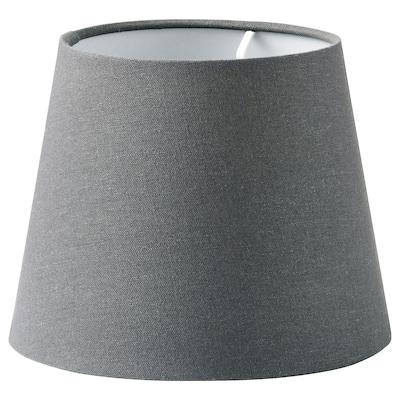 SKOTTORP Lampskärm, grå, 19 cm