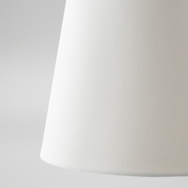 SKOTTORP Lampskärm, vit, 33 cm