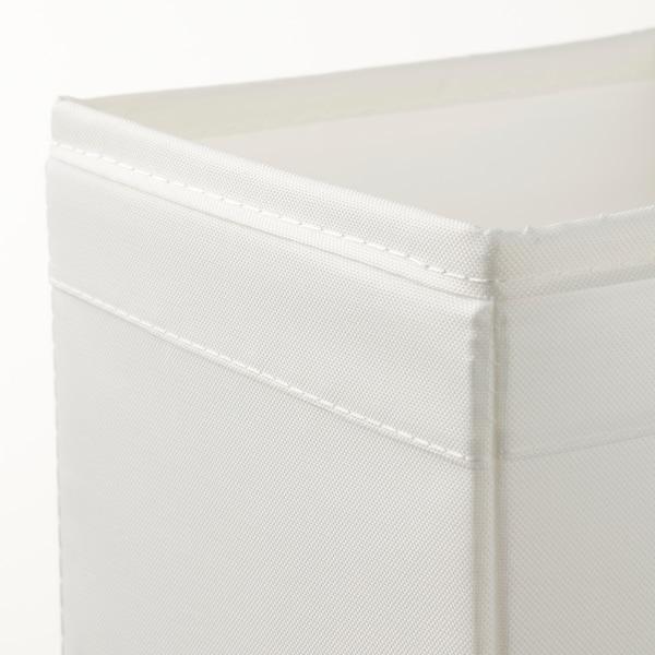SKUBB Låda, set om 6, vit