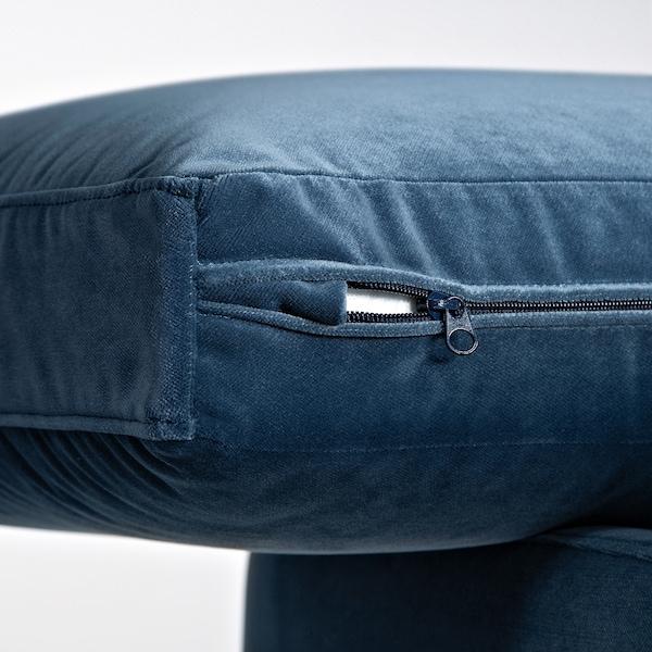 SKULTORP 3-sitssoffa mörkblå/natur 85 cm 67 cm 214 cm 92 cm 85 cm 18 cm 12 cm 66 cm 190 cm 61 cm 45 cm