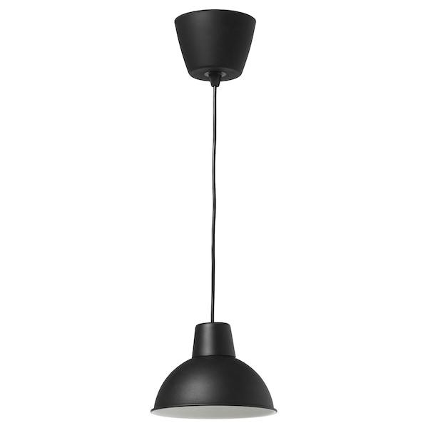 SKURUP Taklampa, svart, 19 cm IKEA