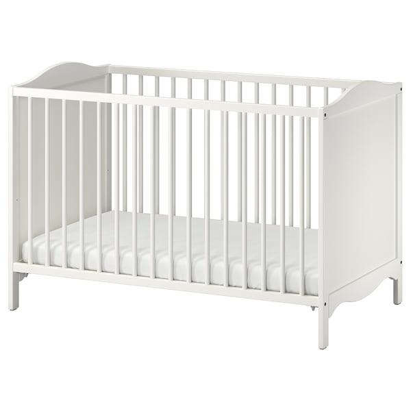 SMÅGÖRA Babymöbler, 3 delar, vit
