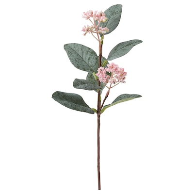 SMYCKA Konstgjord blomma, eukalyptus/rosa, 30 cm