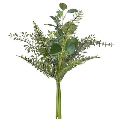 SMYCKA Konstgjord bukett, inom-/utomhus grön, 50 cm