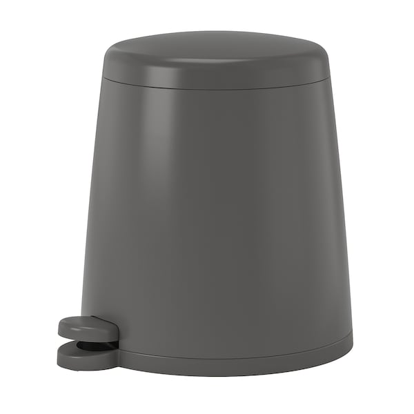 SNÄPP Pedalhink, grå, 12 l