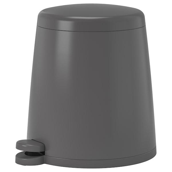 SNÄPP Pedalhink, grå, 5 l