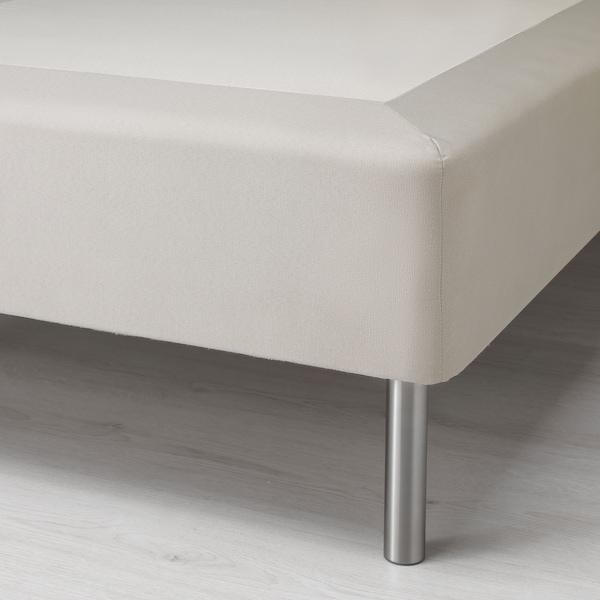 SNARUM Resårbotten, medium fast/beige, 90x200 cm
