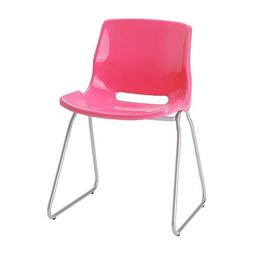 SNILLE Besöksstol, rosa Bredd: 55 cm Djup: 50 cm Höjd: 77 cm Sitsbredd: 45 cm Sitsdjup: 39 cm Sitshöjd: 47 cm
