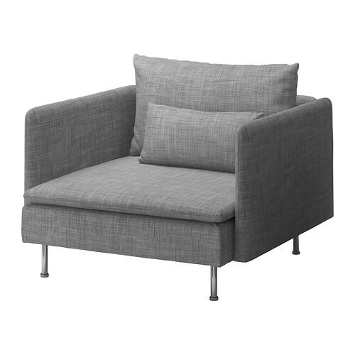 SÖDERHAMN Fåtölj Isunda grå IKEA