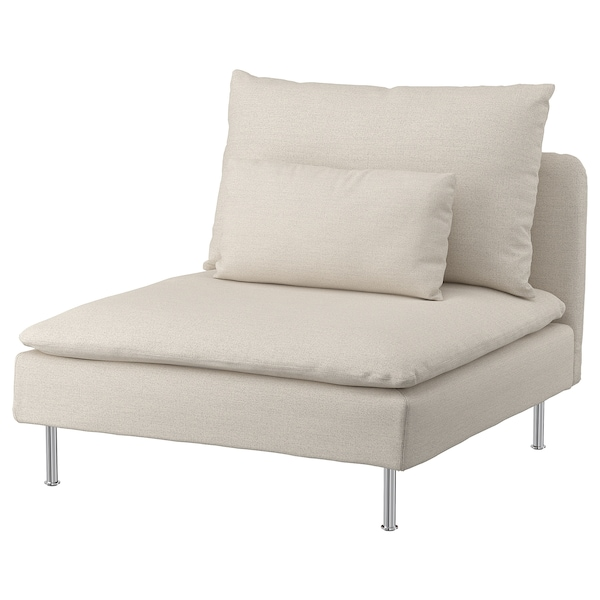 SÖDERHAMN 1-sits sektion, Gunnared beige