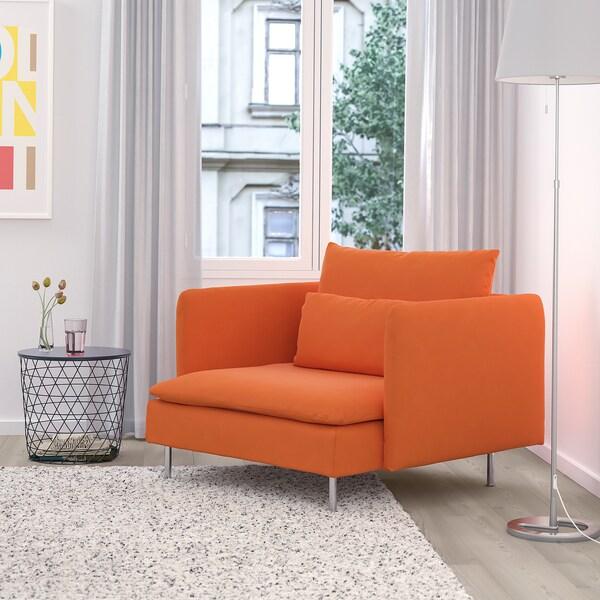 SÖDERHAMN Fåtölj, Samsta orange IKEA