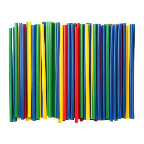 SOLFINT Sugrör IKEA Det breda sugröret passar bra till tjockare drycker som exempelvis smoothies.