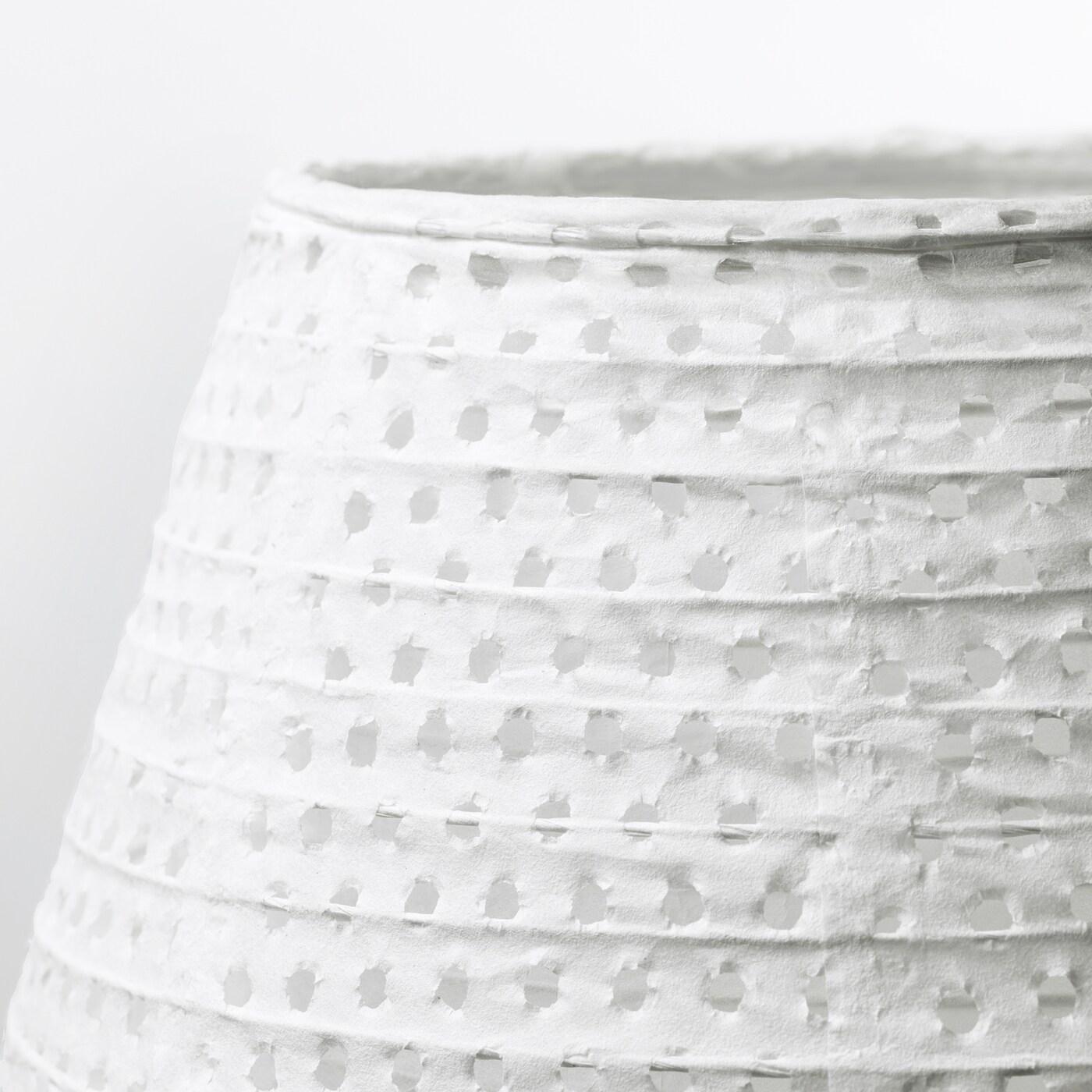 SOLLEFTEÅ Golvlampa, oval vit vit IKEA