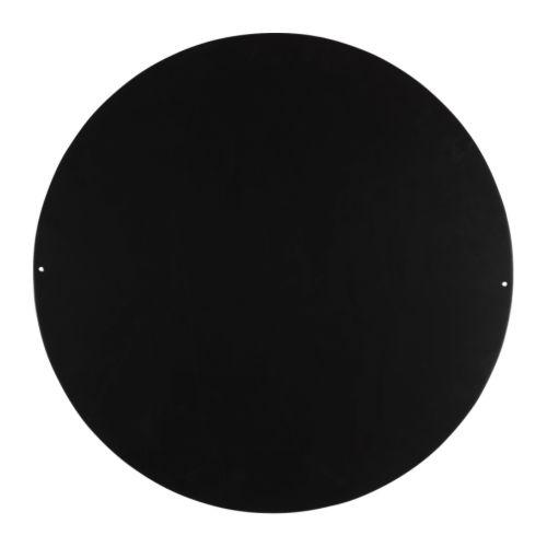 SPONTAN Magnettavla svart Diameter: 57 cm