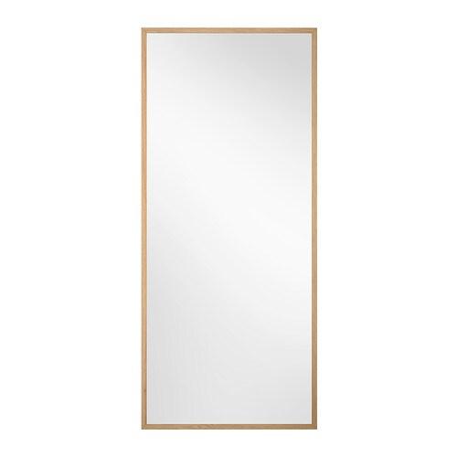 Stave spegel ek 70x160 cm ikea for Specchio 40x160