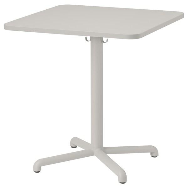 STENSELE Bord, ljusgrå/ljusgrå, 70x70 cm