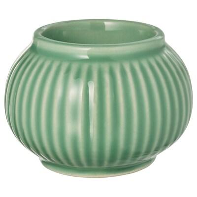 STILREN värmeljushållare grön 6 cm
